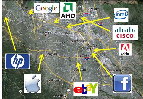 san francisco map silicon valley the new geography of startup cities nat geo education
