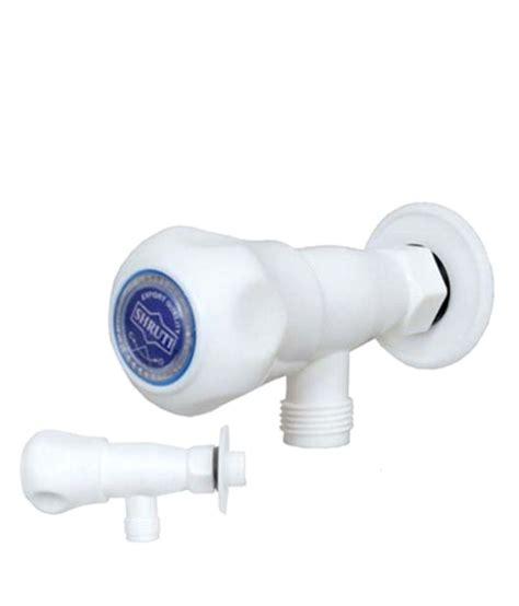plastic bathroom taps buy shruti plastic abs bathroom tap bib cock online at