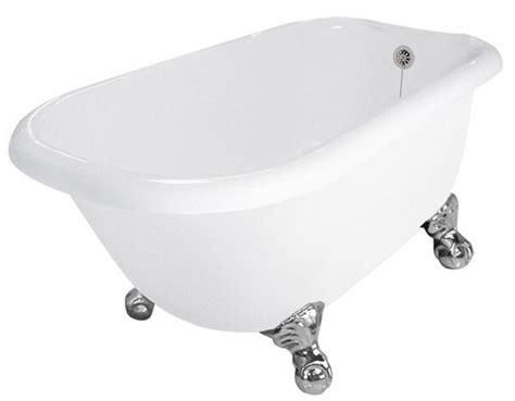 54 acrylic bathtub 54 inch acrylic rolltop clawfoot tub