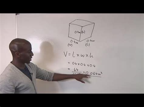 how to m how to compute cubic meters youtube