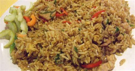 Nasi Putih Tabur Bawang Goreng Porsi Gede bola salju kumpulan resep nasi goreng