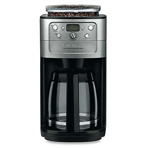 cuisinart coffee maker bed bath beyond cuisinart 174 grind brew 12 cup automatic coffee maker