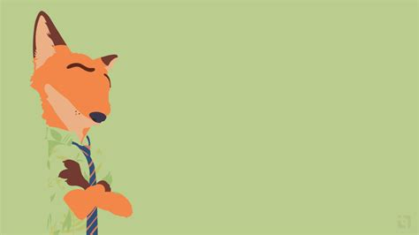 zootopia wallpaper hd iphone nick wilde zootopia minimalist wallpaper by taufiq an on