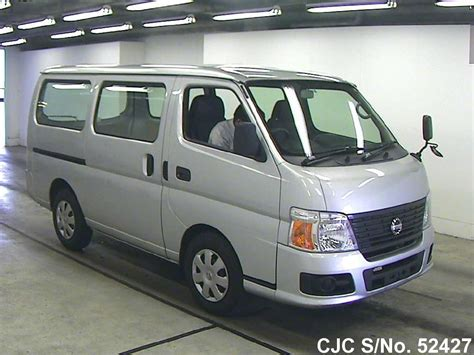 nissan caravan 2011 2011 nissan caravan silver for sale stock no 52427