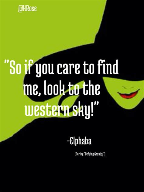 wicked quotes musical quotesgram