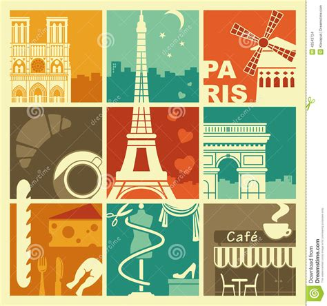 imagenes y simbolos de francia symboles de la france illustration de vecteur image du