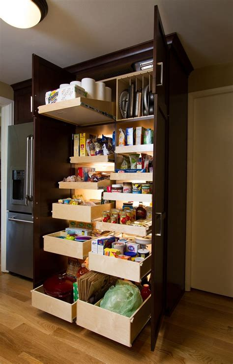 Food Pantry Closet 25 Best Ideas About Pull Out Pantry On Canned