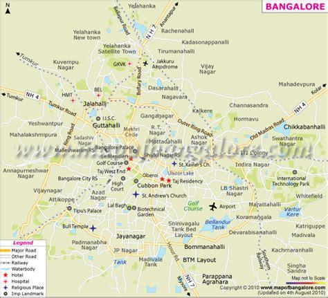 bangalore city map images bangalore city map pdf