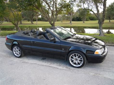 find   volvo  convertible triple black hp auto  florida owner  reserve