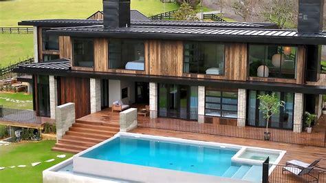 grand designs  zealand se  burnt timber