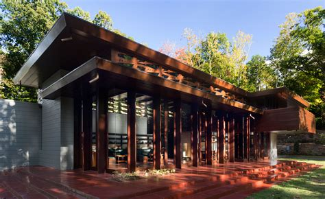 lloyd architects frank lloyd wright s bachman wilson house gets a new lease