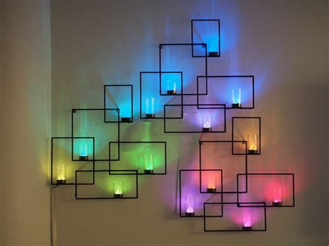 neon light wall art 76 brilliant diy wall art ideas for your blank walls