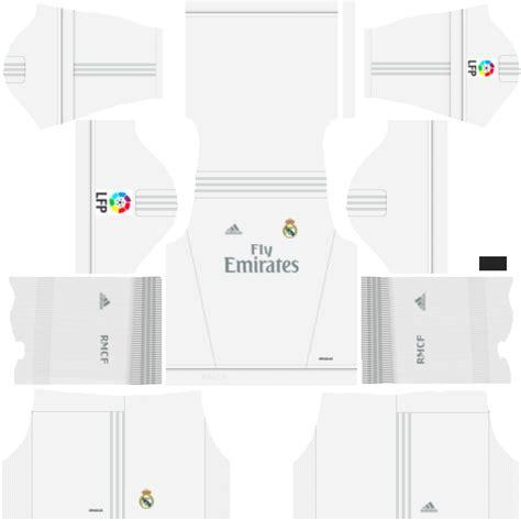 Kits dream league soccer kit real madrid dls 16