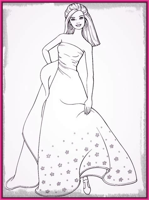 dibujos para colorear de barbie sirena y su delf n imagenes de barbie sirena para colorear hoy imagenes de