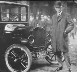 Ford Origin Today In History The Ford Model T Is Born