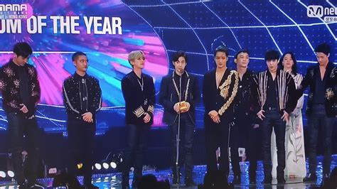 exo mama 2017 here are the winners of the 2017 mnet asian music awards