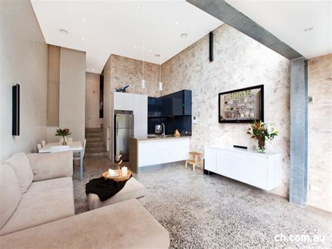 Split Level Ceiling by Split Level Living Room Using Colours With