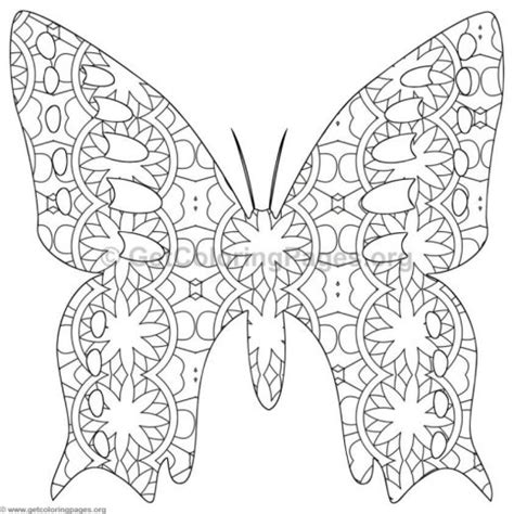 complex butterfly coloring pages cool coloring butterfly mandala pages with 240 mandala