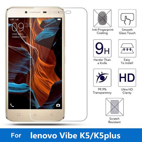 Tempered Glass Lenovo Vibe C Screen Guard Anti Gores Kaca Lenovo 2020 ᑎ 2 5d 0 3mm for ᐊ lenovo lenovo vibe k5 screen protector anti explosion anti explosion