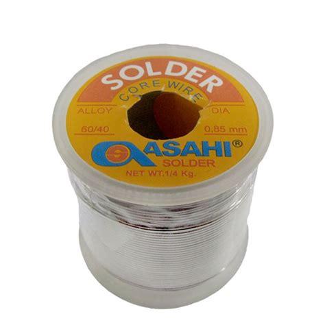 Timah Solder 0 8mm 5m timah asahi 0 8mm 60 40 1 4kg 1 rol 45 m digiware store