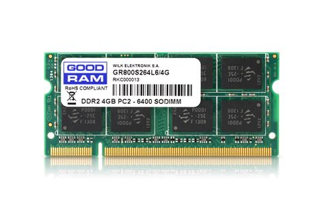 Ram Sodimm Ddr2 4gb goodram ddr2 so dimm memory modules