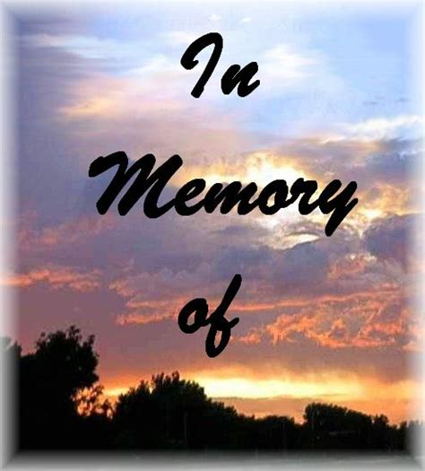 In Memory by Memorial Page
