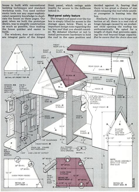 wooden house plans doll house plans doll house plans for american or 18