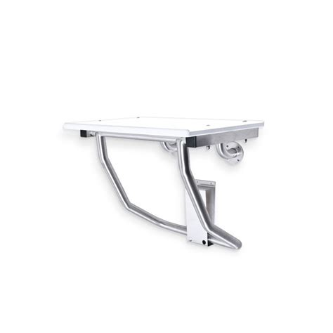 Commercial Bathroom Bench Retractable Ada Compliant Shower Bench Surface Mounted