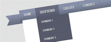 tutorial jquery tutorial create a ribbon dropdown menu with css3 and
