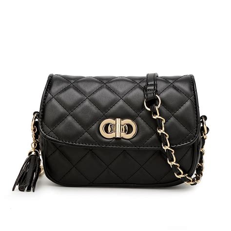 Quilted Designer Handbags by New Designer Inspired Quilted Faux Leather