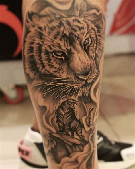 saber tooth tiger tattoo 60 awesome tiger designs with meanings