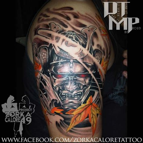tattoo eye mask samurai mask tattoo by zorka calore tattoo by surfboyz12
