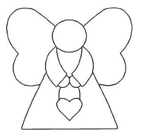 moldes para imprimir de navidad molde para hacer angeles de fieltro para navidad