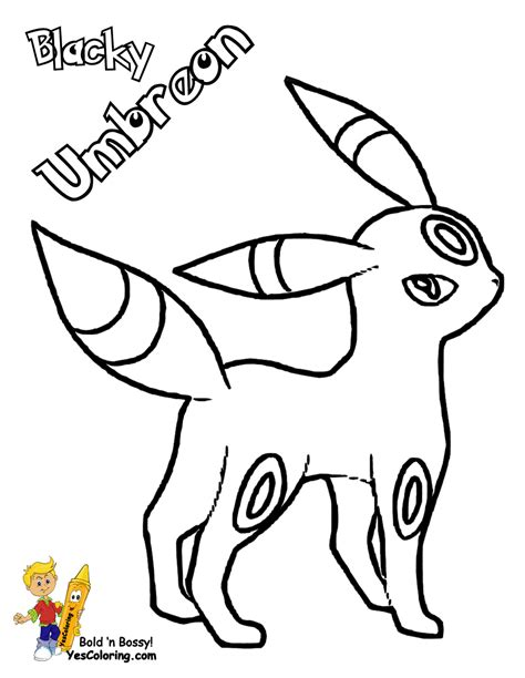 pokemon coloring pages yescoloring com pokemon coloring pages umbreon coloring home