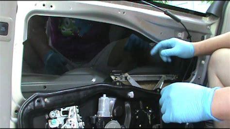 toyota sienna  passenger side rear power sliding