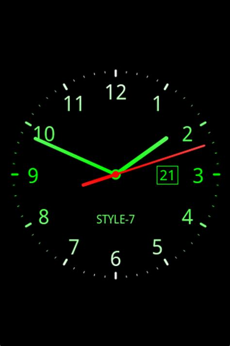 Timer Analog 3 Jam By Pc Store analog clock live wallpaper 7 android apps on play