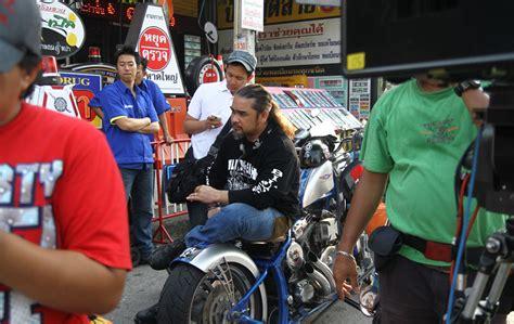 film malaysia awie sawadikap behind the scene bikers kental foto astro
