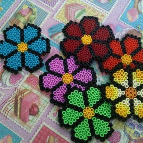 perler bead flower designs 369 best images about hama pyssla on
