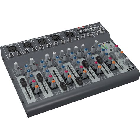 Mixer Audio 10 Channel behringer xenyx 1002b battery operated 10 channel audio