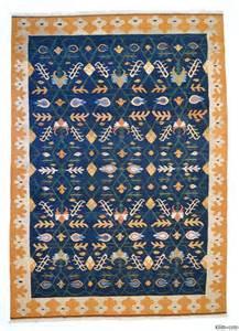 Turkish Area Rugs K0004671 Blue New Turkish Kilim Area Rug Kilim Rugs
