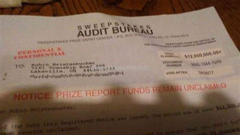 Sweepstakes Today Reviews - 72 top rated the sweepstakes audit bureau reviews and complaints pissed consumer