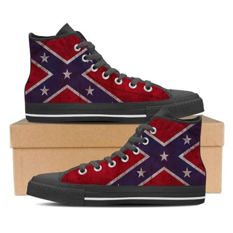 confederate flag shoes groove bags