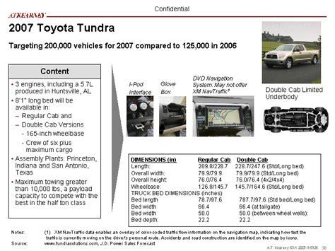 tundra bed size tundra towing capacity tundrasolutions autos post