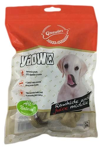Gnawlers Bone Bacon Flavour chew for dogs buy chew bones and chew sticks for dogs