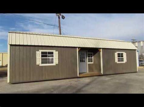 Lofted Barn Cabin Plans by New Derksen 14x40 Side Lofted Barn Cabin With 8 Walls