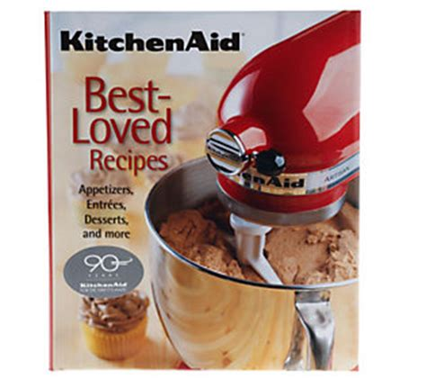 Kitchenaid Maker Recipes Kitchenaid Best Loved Recipes Cookbook Qvc