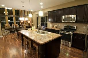 Homekitchen by M I Homes Of Columbus Waterford Park Parkside Model