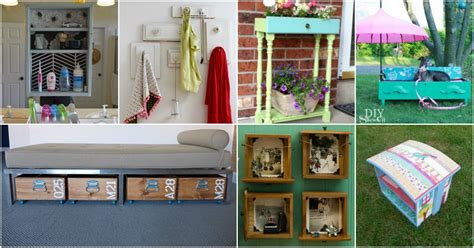 brilliant repurposing projects   drawers diy