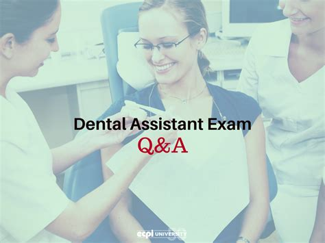 dental assistant questions and answers