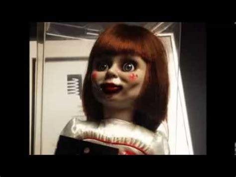 imagenes reales de la muñeca annabelle creepypasta annabelle la mu 241 eca diab 243 lica youtube